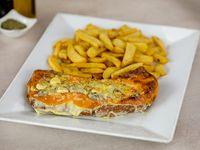 Milanesa 4 queso's