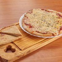 Promo 8 - Pizza de muzzarella (8 porciones) + 4 fainá