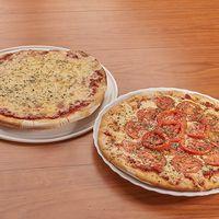 Promo 3 - Pizza muzzarella + pizza napolitana