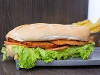 Sándwich clásico de milanesa