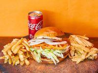 Chicken burger crio
