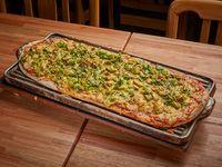 Pizza con mejillones