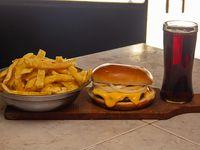 Hamburguesa full cheddar