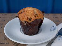 Muffin de caramelo con chips de chocolate