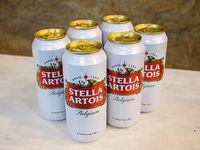 Promo - Six pack de cerveza Stella x 500 ml