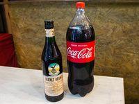 Promo 15 - Fernet Branca 750 ml + Coca Cola 2.25 L