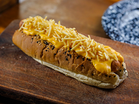 Hot dog tejano