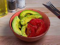 Ensalada de tomate y palta