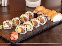 Combinado salmón (15 piezas)