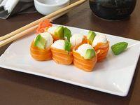 Geisha de salmón (6 piezas)