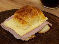 Medialuna de jamón y queso (unidad)