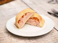 Empanada de jamón y queso sin gluten