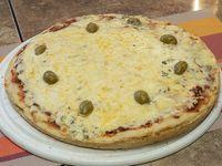 7 - Pizza con Cuatro Quesos