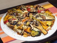 40 - Pizza con verduras grilladas