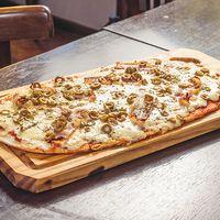 Pizza con panceta