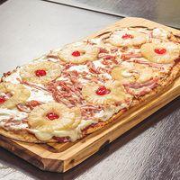 Pizza agridulce