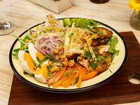 Paleo curried chicken salad