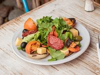 Ensalada tibia de verduras grilladas