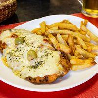 Lista $199 - Milapizza a la muzzarella con papas fritas