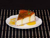 Cheesecake Salsa Maracuyá