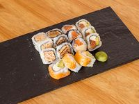 Combo yaffo - 100 salmón clásico 15 piezas