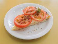 Pizza napolitana (porción)