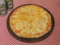 Promo - Pizza a elección + 2 cervezas Heineken 354 ml
