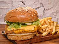 Hamburguesa Crunchy Chicken
