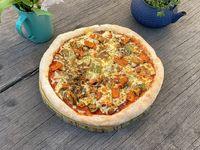 Pizza Vegetales asados con muzza