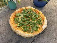Pizza Rúcula y parmesano