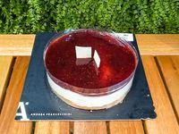 Cheesecake con salsa