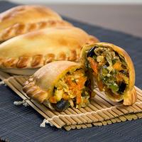 43 - Empanada integral de vegetales asados