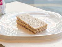 Sándwiches triples de jamón cocido y queso