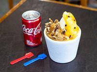 Combo - 1/4 Kg helado + gaseosa Coca Cola lata
