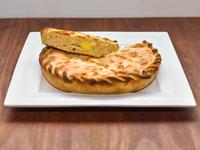 Tarta de pollo y muzzarella