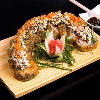 Arashi crunch roll (10 piezas)