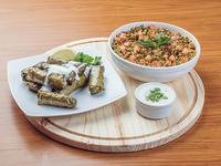 Promo 7 - Dolma (10 unidades) + ensalada Tabule