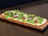 Pizza fresca de rúcula