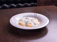 Sorrentinos de calabaza y parmesano
