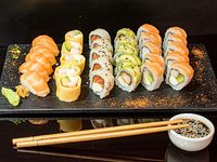 Tabla shrimp & salmon (30 unidades)