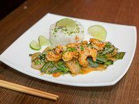 Spicy sour shrimps