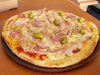 Pizza con panceta