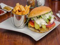 Sándwich de hamburguesa Mía Pastora