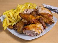 Promo - Pollo asado + papas familiares