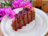 Torta de Frutos Rojos vegana/saludable