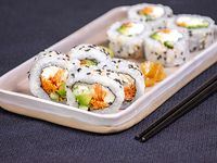 Veggie roll (8 piezas)