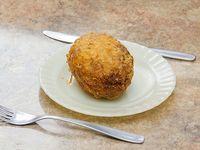 1- Croquetas de papas con jamón y queso