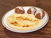 Falafel (3 unidades) + hummus