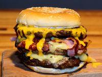 Burger triple