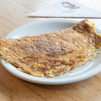 431 - Omelette de queso y cebolla